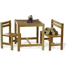 Pinolino 202316 - Kindersitzgruppe 3teilig massiv