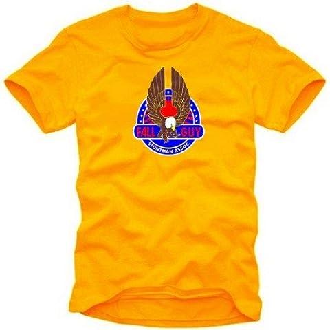 FALL GUY stuntman t-shirt ORANGE GR.XXL
