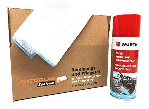 WÜRTH - Premium Cockpit Reinigungs- und Pflegespray/Duft: Zitrone/Inhalt: 400ml/(33,73 EUR/l)