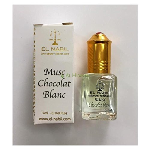 EL NABIL - MUSC CHOCOLAT BLANC 5ml - LOT DE 6