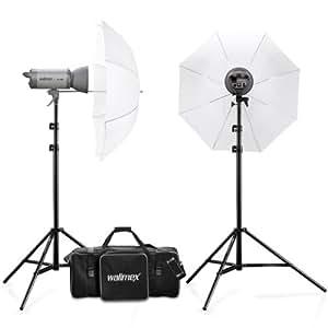 Walimex Pro Studioset VC-400/400 und Studiotasche XL