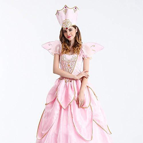 Shisky Halloween kostüm Damen, Halloween Kostüm Fee - Cinderella Fee Kostüm