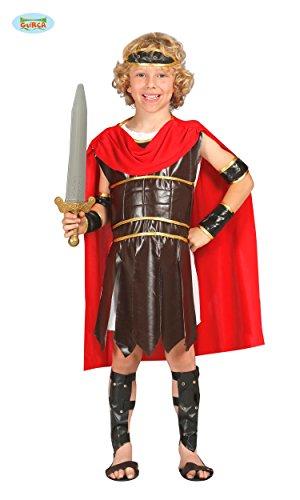 KINDERKOSTÜM - RÖMISCHER SOLDAT - Größe 142-148 cm ( 10-12 Jahre ), Antikes Rom Caesar Krieger Roemer römisches (Kind Soldat Kostüm Römischer)