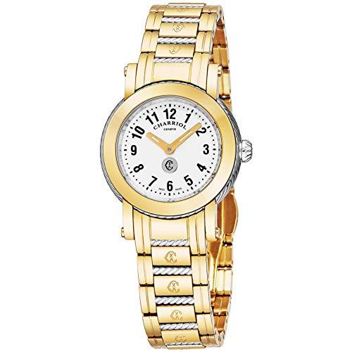 Charriol Women's Parisi 27mm Steel Bracelet Quartz Watch P28Y2P.28Y2.008