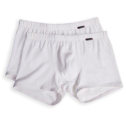 Olaf Benz Herren Shorts, 2er Pack Weiß (White 1000)
