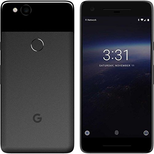 "Google Pixel 2 Single SIM 4G 64GB Black - smartphones (12.7 cm (5""), 64 GB, 12.2 MP, Android, 8, Black)"