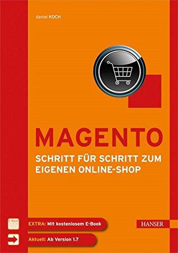 Magento - Schritt für Schritt zum eigenen Online-Shop Buch-Cover