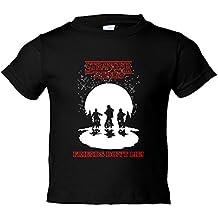 Camiseta niño Stranger Things Friends Dont Lie ilustración