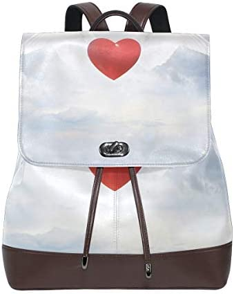 FAJRO Flying Hearttravel Sac à Dos Cuir Sac Sac Sac à Main école Lot b804d0