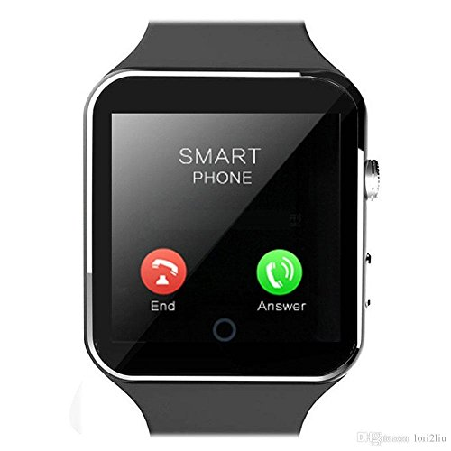 Karbonn A6 Turbo Compatible X6 Bluetooth Smartwatch All Apple Iphone, Samsung, iPhone , Lenovo, XIOMI, REDMI Oppo, VIVO, Motorola,IOS, WindowsX6 All 3G,4G Phone with SIM Card Support | Android 5.1 OS | Facebook | Whatsapp | Activity Tracker | Fitness Band | Music | Camera with Video Recording | Micro SD card Support News, Sports, Health, Pedometer, Sedentary Remind & Sleep Monitoring, Better Display, Loud Speaker, Microphone, Touch Screen, Multi-Language by vell-tech  available at amazon for Rs.2999