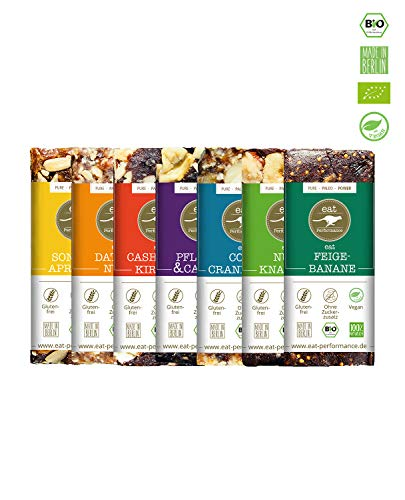 eat Performance® Variety Energie Riegel (7x 40g) - Bio, Paleo, Vegan Aus 100{3b492a37e30f6afd9637736f5c8be11439d8abea3e9ddacff0fd200a4550a35d} Natürlichen Zutaten