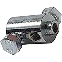 Prisionero Tornillo Cable doble tornillo 12mm x 21mm universal Moto CICLOMOTOR Moto Embrague Gas Freno Acelerador