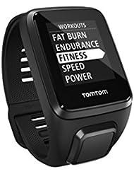 TomTom Spark 3 GPS-Fitnessuhr(Routenfunktion, Multisport-Modus, 24/7 Aktivitäts-Tracking)