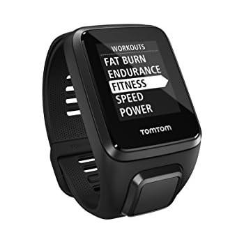 TomTom SPARK 3 - Reloj deportivo  Negro (Talla pequeña)