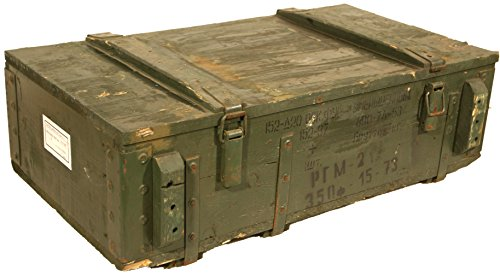 Caja de munición PTM-Caja para guardar CA CA 81x 51x 31cm Militar Caj
