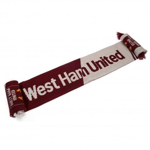 West Ham United FC Bufanda diseño de Vertigo