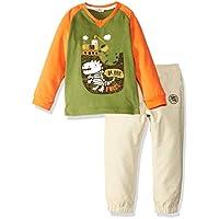 Zeyland Erkek çocuk Kıyafet Takımları Zeyland Küçük Erkek Çocuk Tshirt + Pantolon
