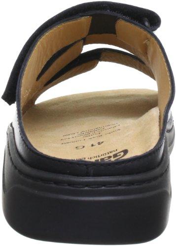 Ganter Laslo, Weite G 5-256927-01000 Herren Clogs & Pantoletten Schwarz (schwarz 0100)