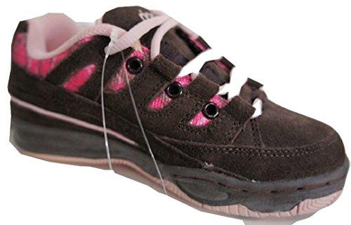 Rip Curl TCKU02, Sneaker bambine Marrone Chocolate Brown & Pink EU 32 (UK 13)