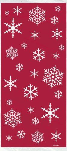 Unique Party Supplies Zellophan Sparkle Baum Weihnachten Partytüten, 20Stück