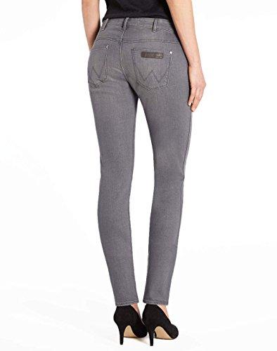 Wrangler - Jeans - Skinny - Femme Gris Gris ardoise Gris - Gris ardoise