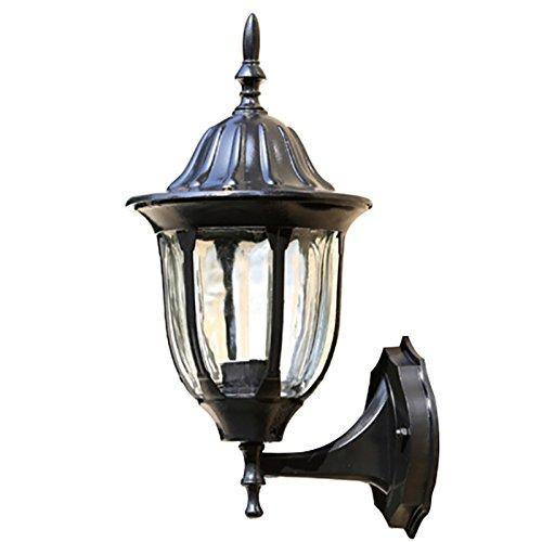 G&L Outdoor Wandleuchte Gelten Für Tür Garten Patio Licht,Black