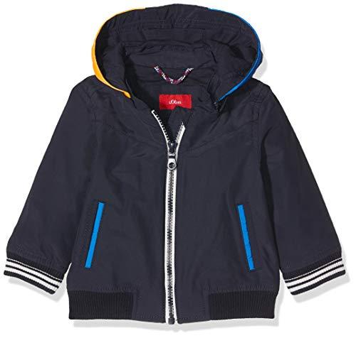 s.Oliver Baby-Jungen Jacke 59.903.51.7065 Blau (Dark Blue 5874), (Herstellergröße: 74)