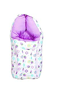 Baby Fly Baby Sleeping Bag (0-6 Months) (Purple Strawberry)