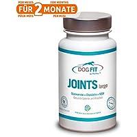DOG FIT by PreThis JOINTS large, medium y small  Remedio de alta calidad para las articulaciones de los perros   Para el dolor de las articulaciones y la artrosis   3 tamaños según el peso de su perro   Nutrientes para las articulaciones   ¡Certificación ISO!