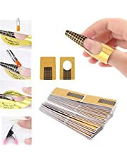 Digital Shoppy 20Pcs Nail Extension Sticker Professional Acrylic Nail Form Tips