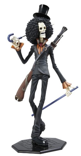 Portrait.Of.Pirates One Piece Strong Edition : Brook PVC Figure - Megahouse (japan import) 2