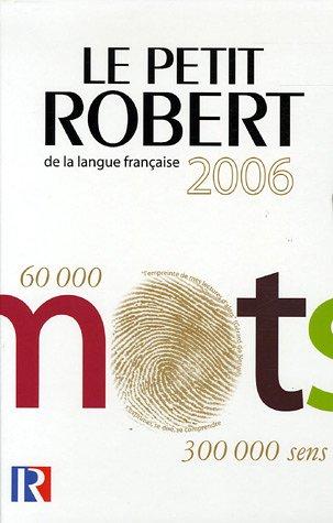 Coffret Le Nouveau Petit Robert Grand format : Dictionnaire alphabétique et analogique de la langue française