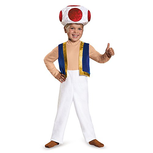 Disguise Toad Toddler Costume, Small (2T) by Disguise
