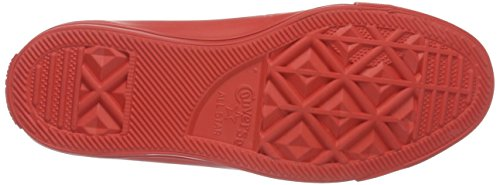 Converse Chuck Taylor All Star, Baskets Basses Mixte Adulte Rouge (Red/Red/Red)