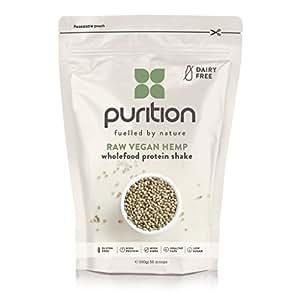 Milk-shake protéiné, végétalien et cru (500 g) idéal pour la perte de poids et la récupération après l'effort - substitut de repas 100 % naturel – smoothie petit déjeuner sans produit laitier