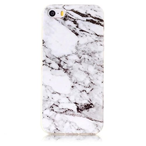 HUANGTAOLI Custodia in Silicone TPU Case Cover per Apple iPhone 5 5S SE C03