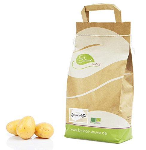 Bio Kartoffeln - Speisekartoffel der Sorte Nicola, festkochend - 2 kg - Direkt vom Biohof Struwe