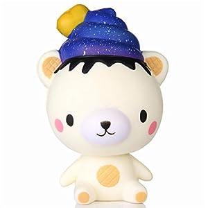 Bluestercool Squishy Orso Kawaii Slow Rising Profumato Squeeze Stress Reliever Toy