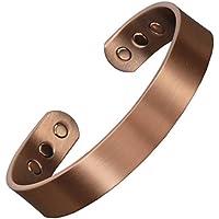 Magnetisches Armband aus reinem Kupfer, Magnettherapie zur Schmerzlinderung, gegen Arthritis, für Damen und Herren... preisvergleich bei billige-tabletten.eu