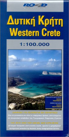 Map of Western Crete (Maps of Greek islands) por Road Editions