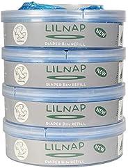 LILNAP - Recarga de pañales compatible para Sangenic Tommee Tippee, TEC y Sangenic Twis t& C