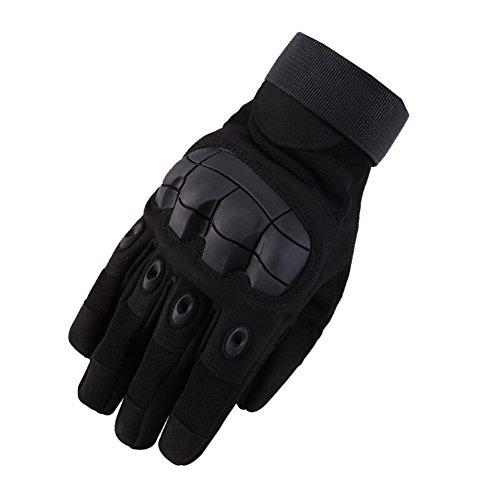 Herren Retro Outdoor Sport Freund Wärmende Fahrradhandschuhe Rutschfest Handschuhe Schwarz XL