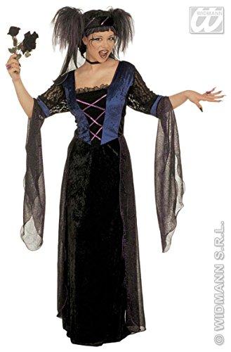 Desconocido Kostüm Prinzessin GOTICA-Größe M (Italienischen Charme Prinzessin)