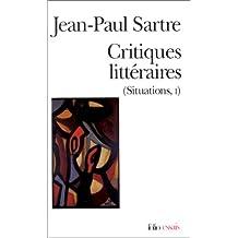 Critiques littéraires (Situations, 1)
