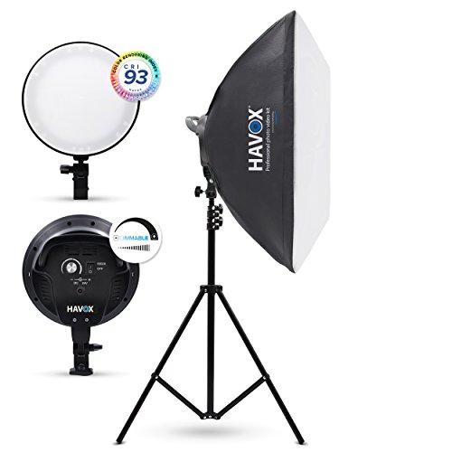 HAVOX - Softbox Estudio LED Foto Video HCL-450-5500K