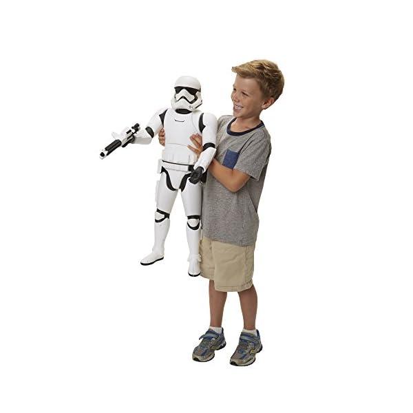 Star Wars: El Despertar de la Fuerza - Stormtrooper, Figura de acción, 78 cm (Disney 90830-EU-PLY) 4