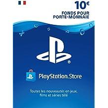 Carte PSN 10 EUR | Code Playstation Store | PS4/PS3/PS Vita - Compte français