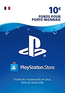 carte psn 10 eur code playstation store ps4 ps3 ps vita compte fran ais jeux vid o. Black Bedroom Furniture Sets. Home Design Ideas