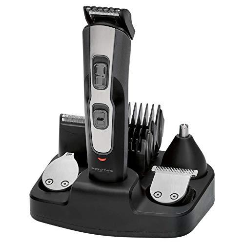 Rasierer Herren Elektrisch Akku Rasierapparat Haarschneidemaschine (Haartrimmer Nasen Ohren, Haarschneider, Ladestation, Kabellos)