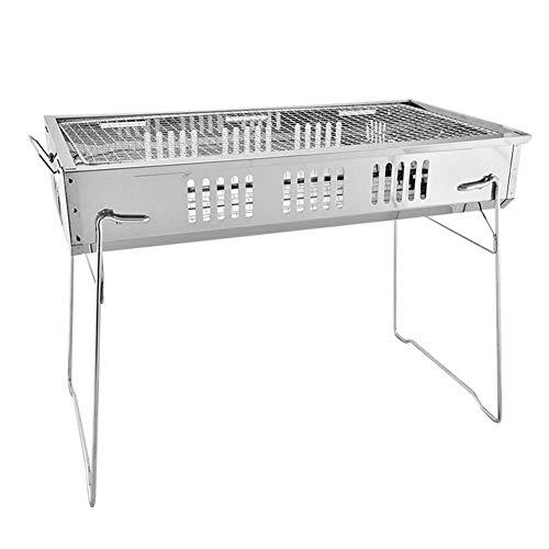 RUIMA Barbecue Portatile in Acciaio Inox per Esterno Forno Portatile Pieghevole, Molto Adatto per Barbecue da Giardino.